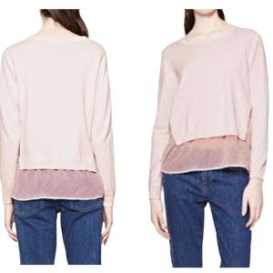 French Connection Pink Sweater Small